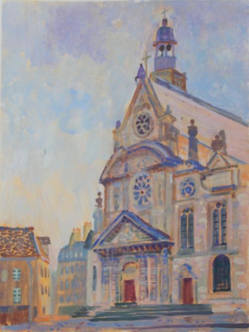 Église Saint-Étienne-du-Mont.